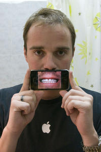 iPhone face replace