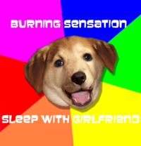 Advice_dog_burning