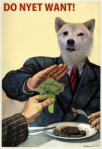 Broccoli Dog