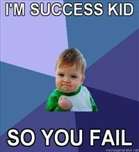 Success Kid / I Hate Sandcastles