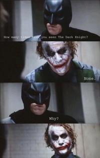 Dark Knight 4 Pane