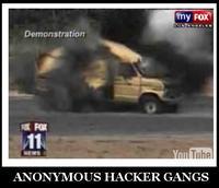 Exploding Van