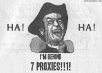 Good Luck, I'm Behind 7 Proxies