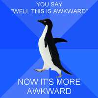 Socially Awkward Penguin