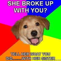 Advice-dog-she-broke-up-with-you-tell-her-what-you-didwith-her-sister