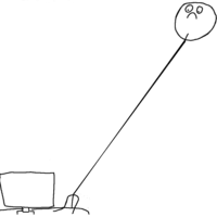 Long Neck Reaction Guy