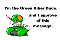 Green Biker Dude - GBD