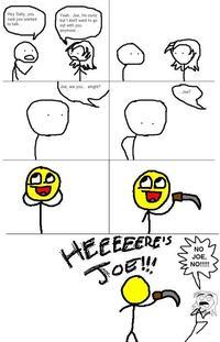 No Joe, No !