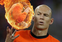 Arjen Robben Ball