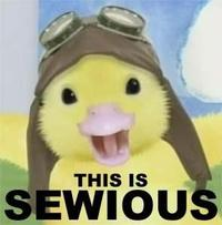 This is Sewious!