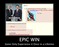 Win / Epic Win / For The Win