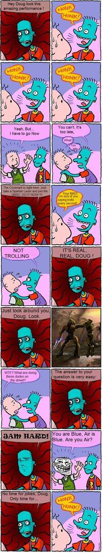 Honk Honk!/Doug comic