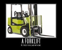 He Tried to Kill Me with a Forklift