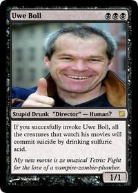 Uwe_boll_mtg_card_by_nilesnake