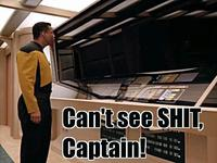 Can't See Sh*t, Captain