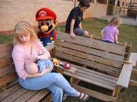 Creepy Mario