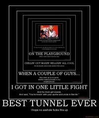 Demotivational Tunnel
