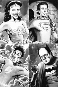 Dave-wachter-seinfeld-superheroes-comic-book-jerry-seinfeld-superman-julia-louis-dreyfus-wonder-woman-michael-richards-flash-jason-alexander-batman