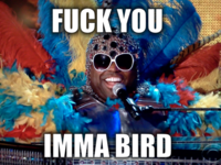 Cee Lo's Muppet Costume