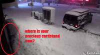 "NYC Cardstand Earthcam Trolling / ""I'll Be There in 30 Minutes"""
