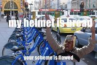 Bread Helmet Man
