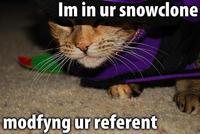 Snowclone