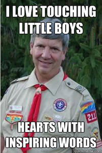 Harmless Scout Leader / Creepy Scoutmaster