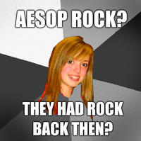 Musically Oblivious 8th Grader