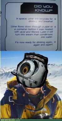 Portal 2 Space Personality Core