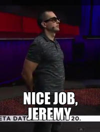 Great Job Jeremy