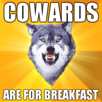 Courage Wolf