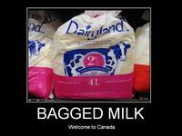 In Canada, Milk Comes in Bags