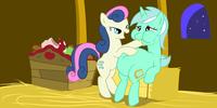 Sitting Lyra