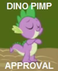 DINO PIMP APPROVAL