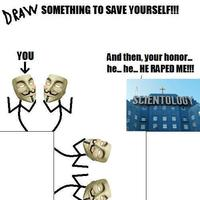 Draw Something to Save Yourself
