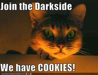 Come to the dark side!