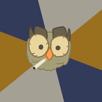 Art Student Owl