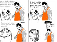 Freddie Mercury Rage Pose