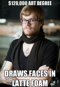 Hipster-barista-art-degree