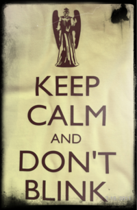 "Don't Blink ""The Weeping Angels"""
