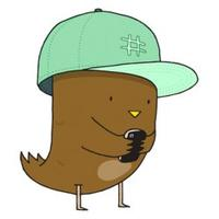 Brown Twitter Bird