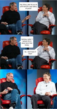 Steve Jobs/Bill Gates Comic