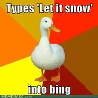Technologically Impaired Duck