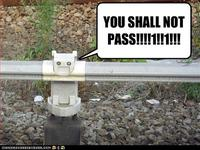 You Shall Not Pass!!!