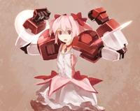 Frightened Madoka