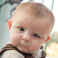 Skeptical Baby