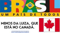 Luíza que está no Canadá