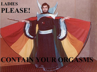 Ladies, Please, Contain Your Orgasms