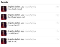 Angelina Jolie's Leg