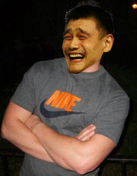 Yao Ming Face / Bitch Please